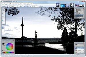 Program na úpravu fotografií Paint.NET.