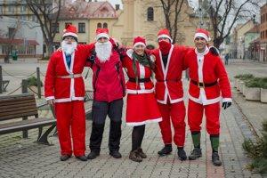 Účastníci Mikulášskej cyklojazy.
