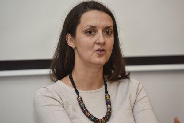 Vedecká pracovníčka Ústavu etnológie a sociálnej antropológie Slovenskej akadémie vied Ľubica Voľanská.