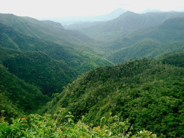 Národný park Black River Gorges, Maurícius.