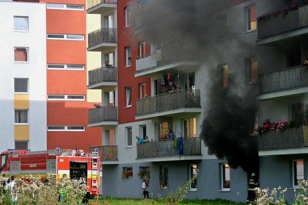 Hasičom sa podarilo požiar rýchlo uhasiť.
