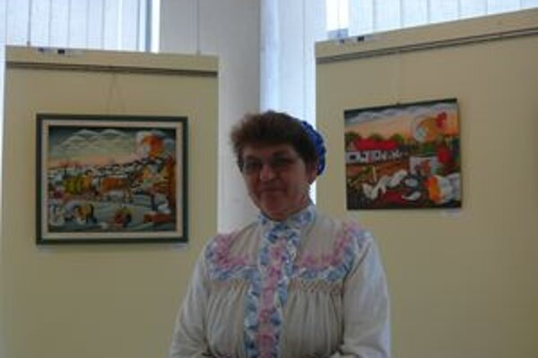 Anna Kotvašová na obrázkoch zachytáva rodnú srbskú Padinu, ako si ju zachovala v spomienkach.