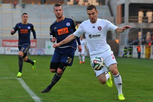 Pre Erika Jendriška, momentálne hráča Spartaka, bol zápas špecifický. Po ôsmich rokoch sa vrátil pod Čebrať.