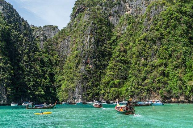 Čaká vás aj výlet na ostrov Phi Phi.