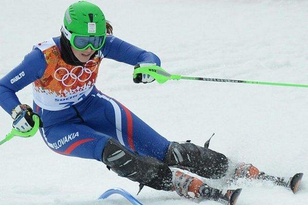 Petra Vlhová sa stala vo februári juniorskou majsterkou sveta.