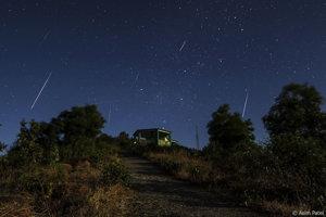 Meteorický roj Geminidy.