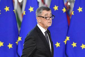 Český premiér Andrej Babiš prichádza na dvojdňový summit EÚ v Bruseli 13. decembra 2018.