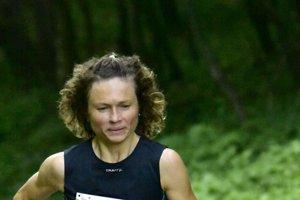 Najlepšia žena M. Krištanová na pretekoch.