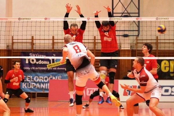 Zvolenskí volejbalisti v zápase proti Prešovu sklamali.