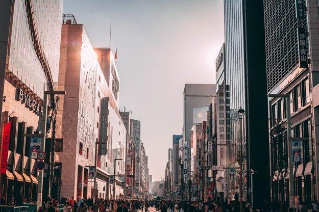 Štvrť Ginza