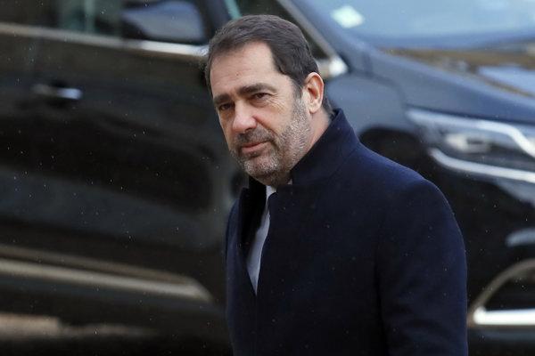 Francúzsky minister vnútra Christophe Castaner.