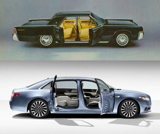Limitovaná edícia k 80. výročiu dverami odkazuje na Continental zo 60. rokov.