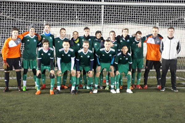 FK Čadca U17 na turnaji v Karvinej.