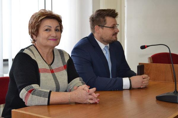 Anna Lopatová a jej právny zástupca Martin Mikluš si vypočuli rozsudok.