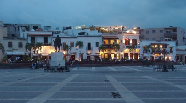 Námestie v Santo Domingo.