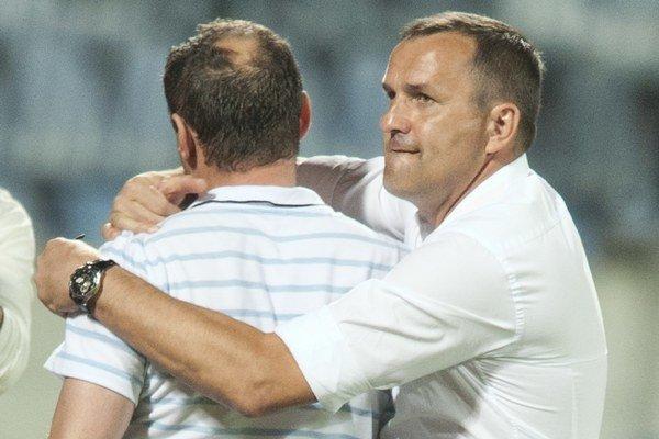 Do Liptova prišiel spolu sPeckom (vľavo) aj Tittel (vpravo). Vkuloároch koluje, že možno bude športový riaditeľ.