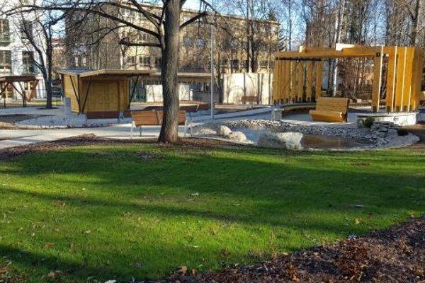 Oddychová zóna bude slúžiť aj verejnosti.