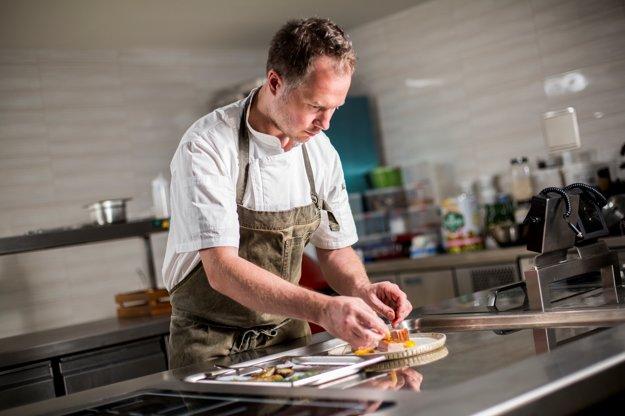 Barry Hartshorne prišiel na Slovensko s predstavou ponúkať moderné menu, ktoré berie ohľad na sezónnosť.