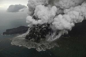 Anak Krakatau.