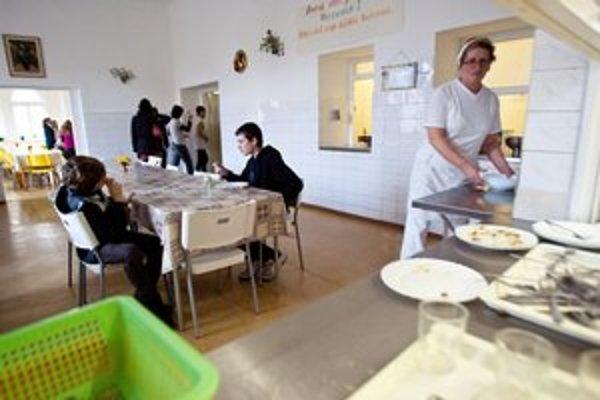 Kvalita školských jedální sa drží na dobrej úrovni.