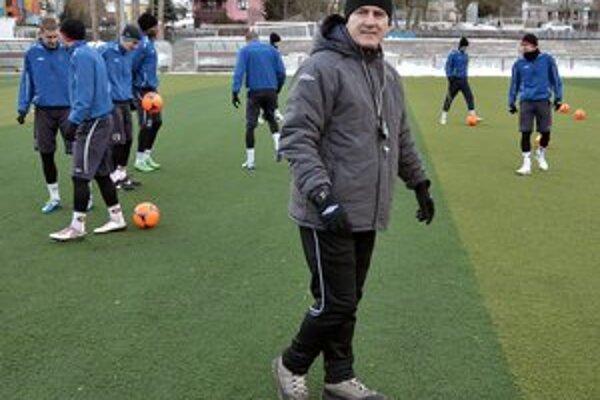 Tréner Šimčo sa futbalistami sa pripravoval aj v maďarskom meste Lipót.