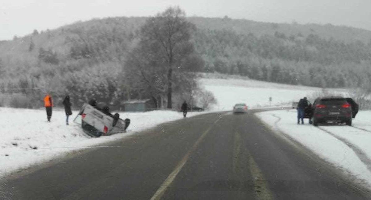4397a889ea65 Cestu medzi Štrbou a Šuňavou uzavreli pre silný vietor - Korzár SME