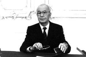 Prezident Československej socialistickej republiky Gustáv Husák.