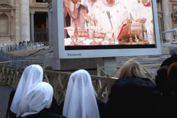 Rehoľná sestra Michaela bola nadšená z vystúpenia novozvoleného pápeža Františka aj z reakcií davu.