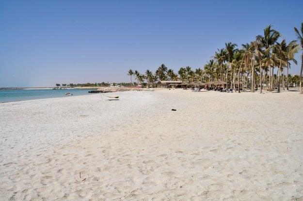 Pláže v Ománe