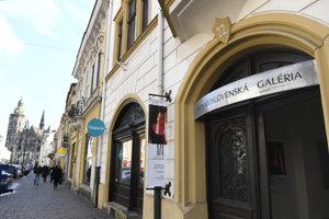 Potluky budú smerovať aj do Východoslovenskej galérie.