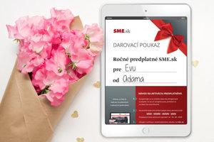 Darčekový poukaz SME.sk - všeobecný