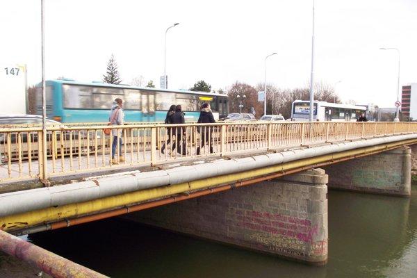Univerzitný most v Nitre.