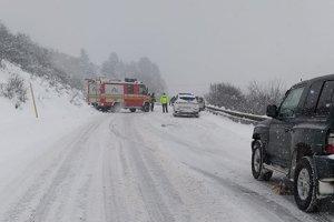 Nehoda pri Hniezdnom.