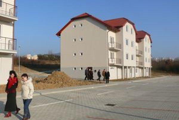 Nové bytovky na Rozkvete.