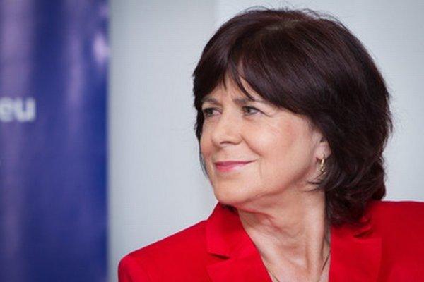 Europoslankyňa a košická krajská podpredsedníčka Smeru-SD Monika Smolková.