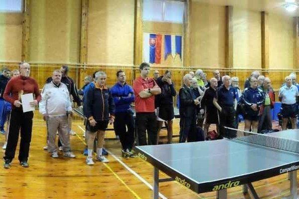 Pohľad na účastníkov turnaja.