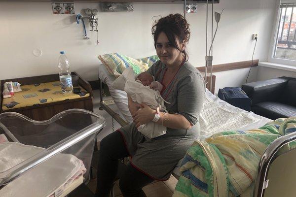 Šťastná mamička so svojou dcérou Csenge.