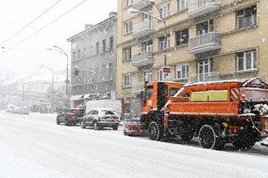 Snehová kalamita v Bratislave