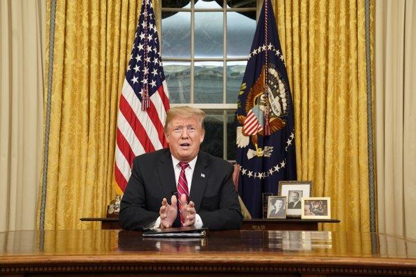 Trumpov príhovor bol apelom na Kongres v súvislosti s rokovaniami o pohraničnom múre.