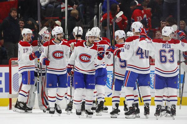 Hokejisti Montrealu sa tešia z víťazstva nad Detroitom.