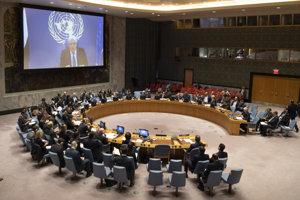 Osobitný vyslanec OSN pre Jemen Martin Griffiths informuje o mierovom procese v Jemene.