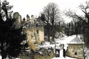 Sklabinský hrad bol vlani na predaj.