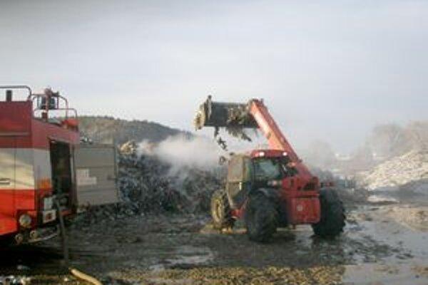 Niekoľko prvenstiev má aj požiar v areáli ZTS.