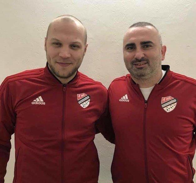 Peter Serbin (vľavo).