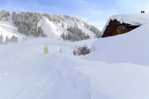 Vo viacerých častiach Rakúska, kde dosiaľ platil najvyšší stupeň lavínového nebezpečenstva, v piatok úroveň výstrahy mierne znížili.