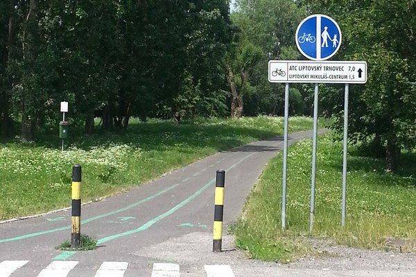 Pre dokončenie cyklistického prepojenia chýba 3,2 kilometra.