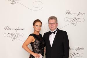 Juraj Čurný, hudobný producent s manželkou Andreou Čurnou
