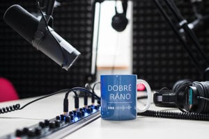 Podcastové štúdio denníka SME.
