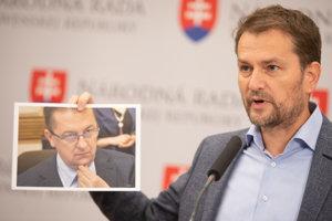 Igor Matovič vyzýva na odvolanie Martina Glváča z funkcií.