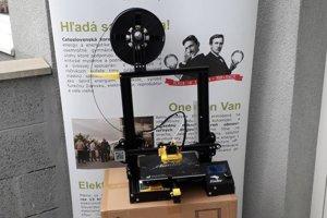 Päť takýchto 3D tlačiarní je pripravených do škôl v okrese Levice.